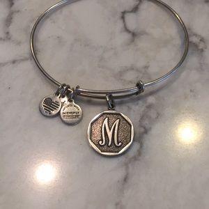 Alex and Ani M bracelet
